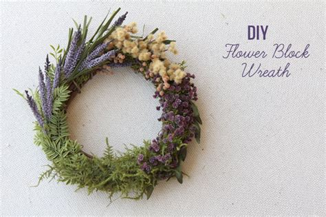 flower wedding wreath diy flower block wreath green wedding shoes weddings