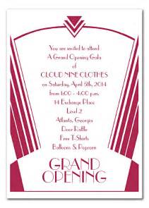 shop opening invitation templates grand opening corporate invitations by invitation