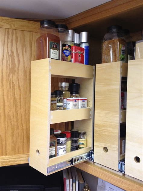 Kitchen Cabinet Spice Organizers Spice Storage Solutions Seattle By Shelfgenie Of Seattle