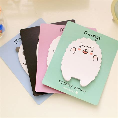 Animal Sticker Stiker Post It 1 pics animal sheep mini stickers korean stationery sticky notes post it note kawaii for