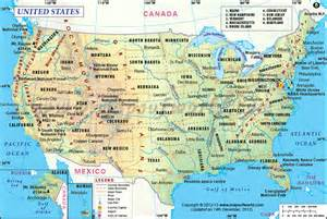 usa map with dc usa map united states of america