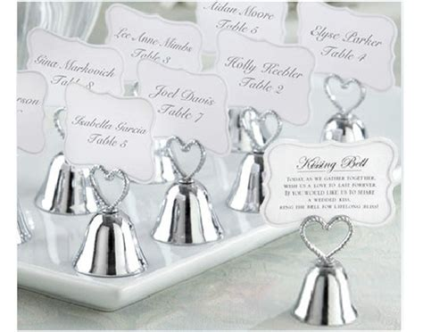 Wedding Bell Place Card Holders Cheap by Popular Wedding Bell Place Card Holder Buy Cheap Wedding