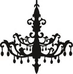 chandelier silhouette black chandelier clip free