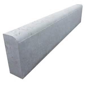 bordure droite p1 b 233 ton gris h 20 00 x l 100 00 cm leroy