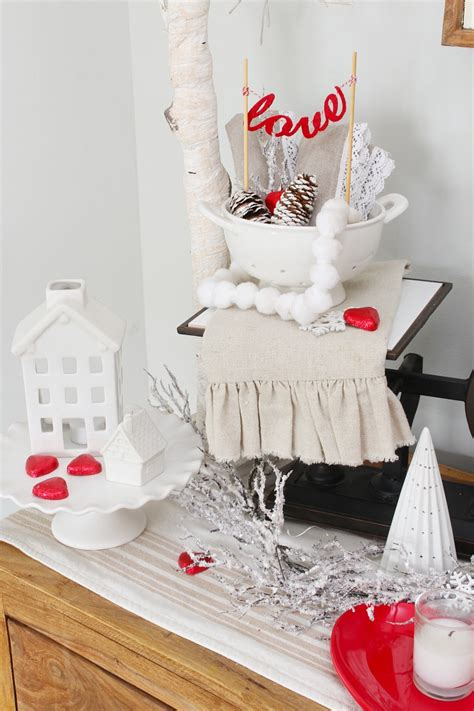 simple ways  decorate  valentines day clean
