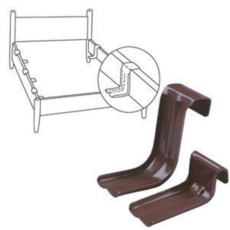 Wood Bed Frame Supports Bed Rail Support For Metal Bed Frames By J H Smith Company 12 99 Supports Any Weight Up To