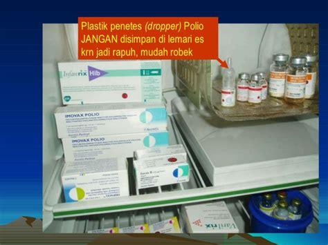 Lemari Es Vaksin imunisasi