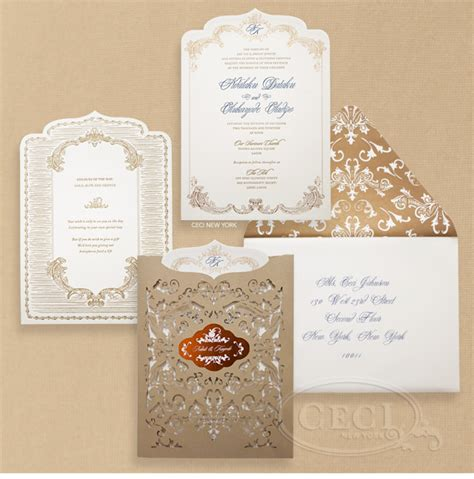 wedding invitation cards sles in nigeria sensational impressions with sumptuously styled stationery for the couture the