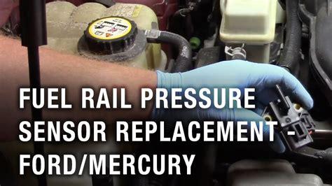 fuel rail pressure sensor replacement ford taurus