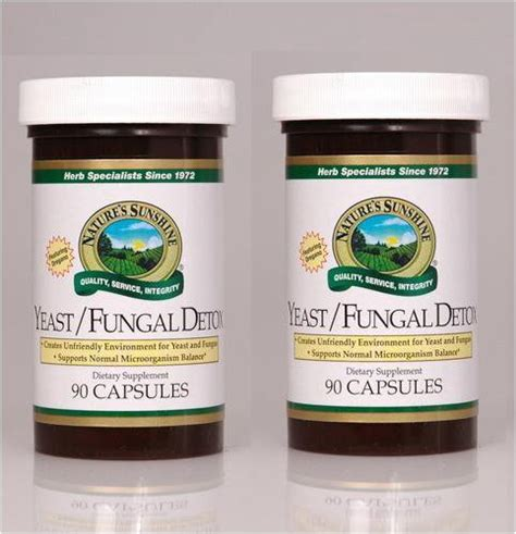 Detox Fungal Infection by Naturessunshine Yeast Fungal Detox Intestinal System