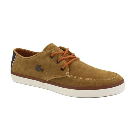 lacoste shoes lacoste sevrin 2 mens laced suede trainers shoes ebay