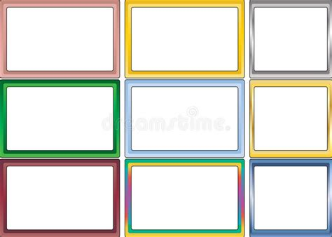 colored picture frames color picture frames coloring pages