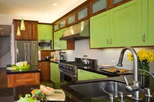 Lime Green Kitchen Cabinets X Contemporary Kitchen Other Metro By Line Kitchen Design