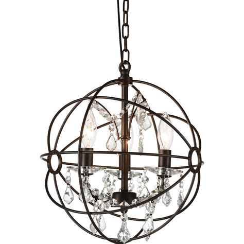 Brizzo Lighting Stores 13 Quot Bird Cage Modern Crystal Round Bird Cage Chandelier