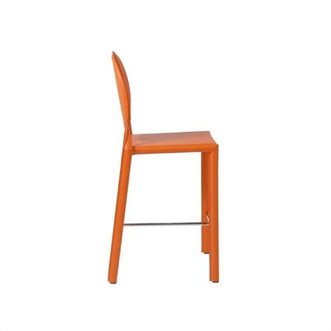 orange counter chairs 26 quot counter stool in orange 02481org
