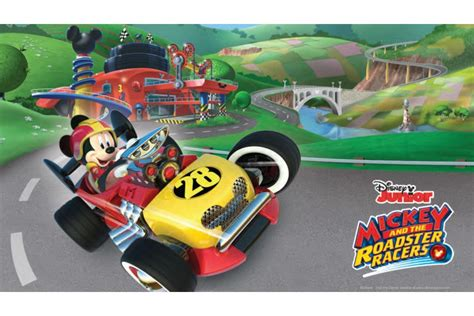 Wallpaper Mickey 10191 63013 mickey and the roadster racers slot