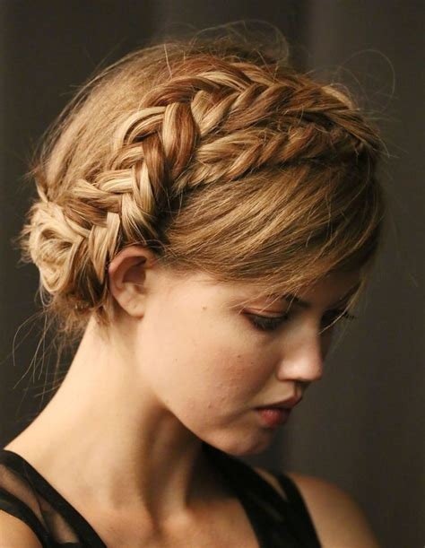 images of braid 2014 braided hairstyles to try crown braids and waterfall