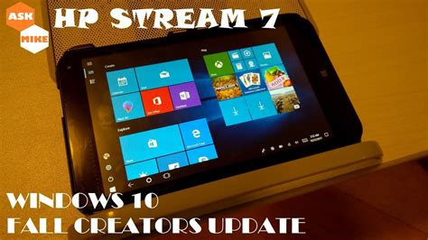 install windows 10 hp stream 7 hp stream 7 clean install windows 10 fall creators