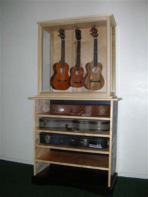 ukulele display case