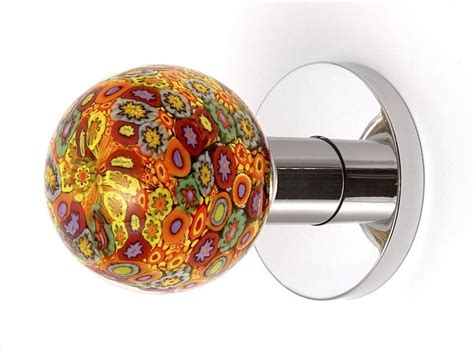 Blown Glass Knobs by Blown Glass Door Knob Cool Pattern Door Knobs And Pulls