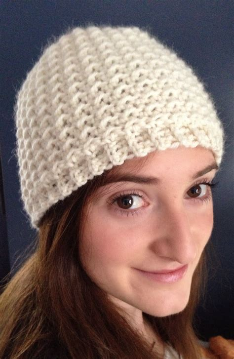 ball hank n skein oh so seedy beanie free crochet hat pattern