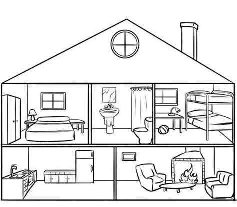 haus zum kostenlose malvorlage menschen und ihr zuhause puppenhaus