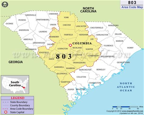 Area Code 803 Lookup 803 Area Code Map Where Is 803 Area Code In South Carolina