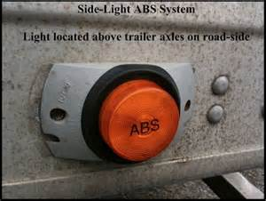Service Brake System Light On Trailer Abs K A M Trucking Inc