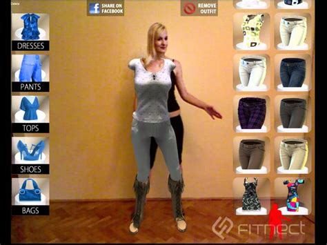 live changing room fitnect interactive fitting dressing room application
