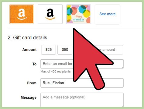 Amazon Apply Gift Card Balance To Order - 3 ways to apply a gift card code to amazon wikihow