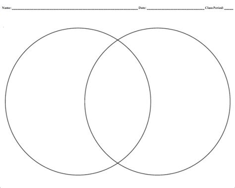 printable free venn diagrams template blank venn diagram templates 10 free word pdf format