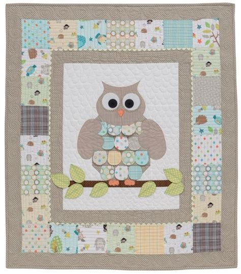 Owl Baby Quilt Pattern by 17 Best Ideas About Owl Baby Quilts On Owl Quilts Baby Quilt Patterns And Simple