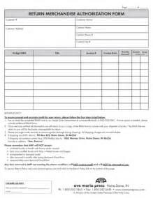 rma document template best photos of return authorization form template return