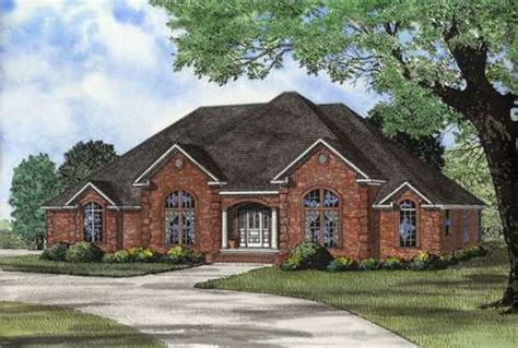 european house plans one story european style house plans 2930 square foot home 1