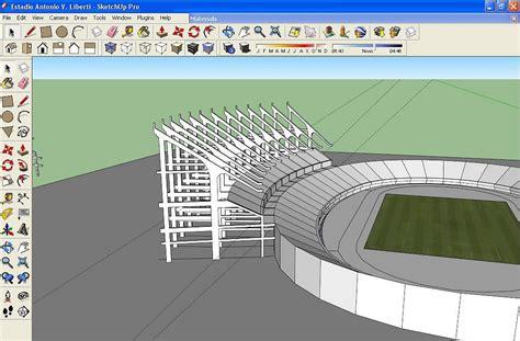 imagenes google sketchup estadio monumental river google sketchup 8 im 225 genes