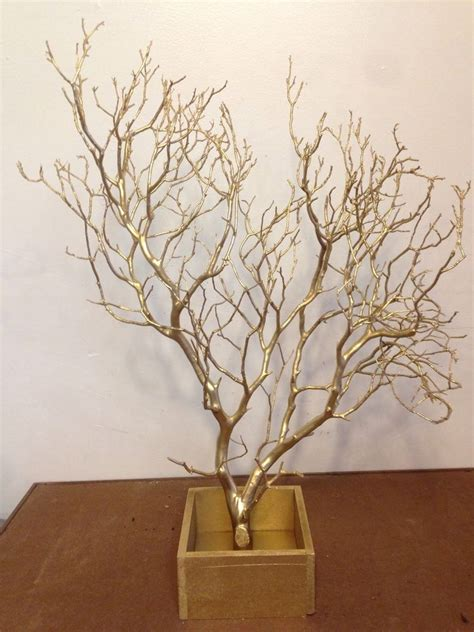 manzanita centerpiece branch 1 20 quot 24 quot with wooden