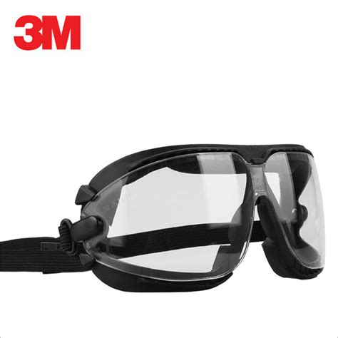 Chemical Splash Safety Goggles 3m 16618 Anti Fog Anti Scratch Coating Lens And Anti