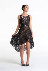 This 4d printed dress just became part of the museum of modern art s
