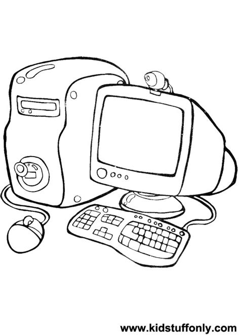 Computer Coloring Worksheets Coloring Pages Coloring Pages On The Computer
