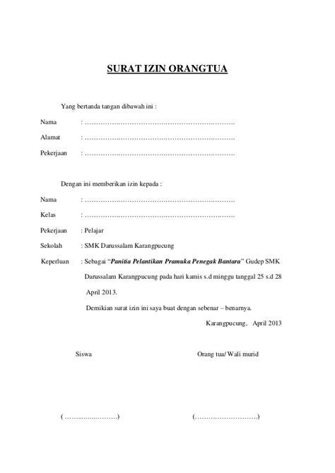 contoh surat izin orang tua untuk anak yang bepergian sendiri 28