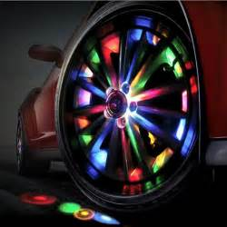 Lighting Car Tires 1 Car Auto 12 Led Solar Tire Wheel Light Vehicle