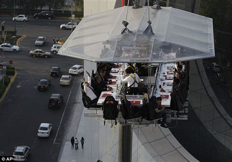 Dinner In The Sky Bathroom by Waiter Can You Pass Harness Lofty