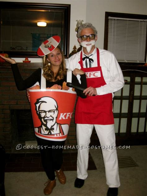 coolest colonel sanders  bucket  fried chicken