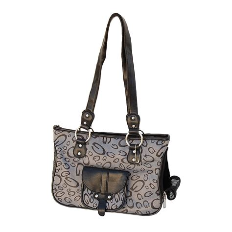 carrier tote designer style g printed pet cat purse tote carrier 16 quot x 7 quot x 10 quot 5006469 ebay