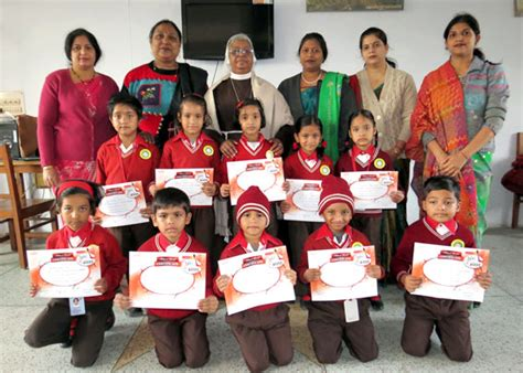 contest 2013 india st francis convent school sikandra agra