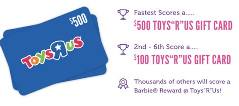 Toys R Us Gift Card Cvs - win free 500 toys r us gift card