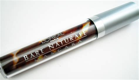 Loreal Bare Naturale Mascara Expert Review by Review Loreal Bare Naturale Mascara In 800 Black