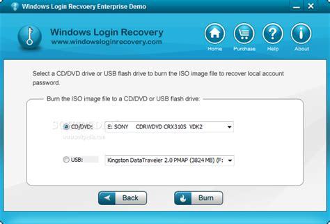 windows reset password enterprise windows login recovery enterprise download