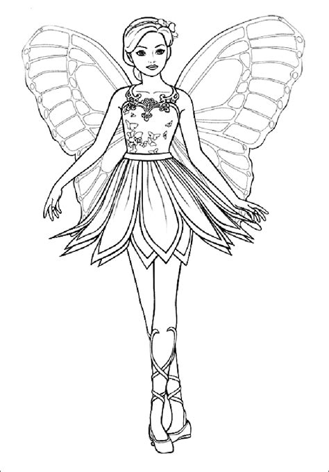 coloring page of fairy coloring pages fairies free printable coloring pages free
