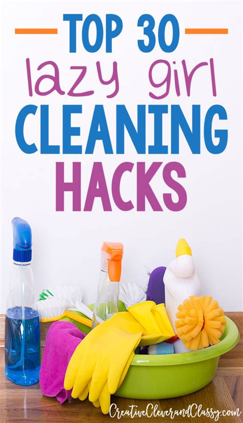 cleaning for lazy top 30 lazy cleaning hacks for cleaning